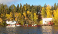 wiau lake alberta fishing lodges